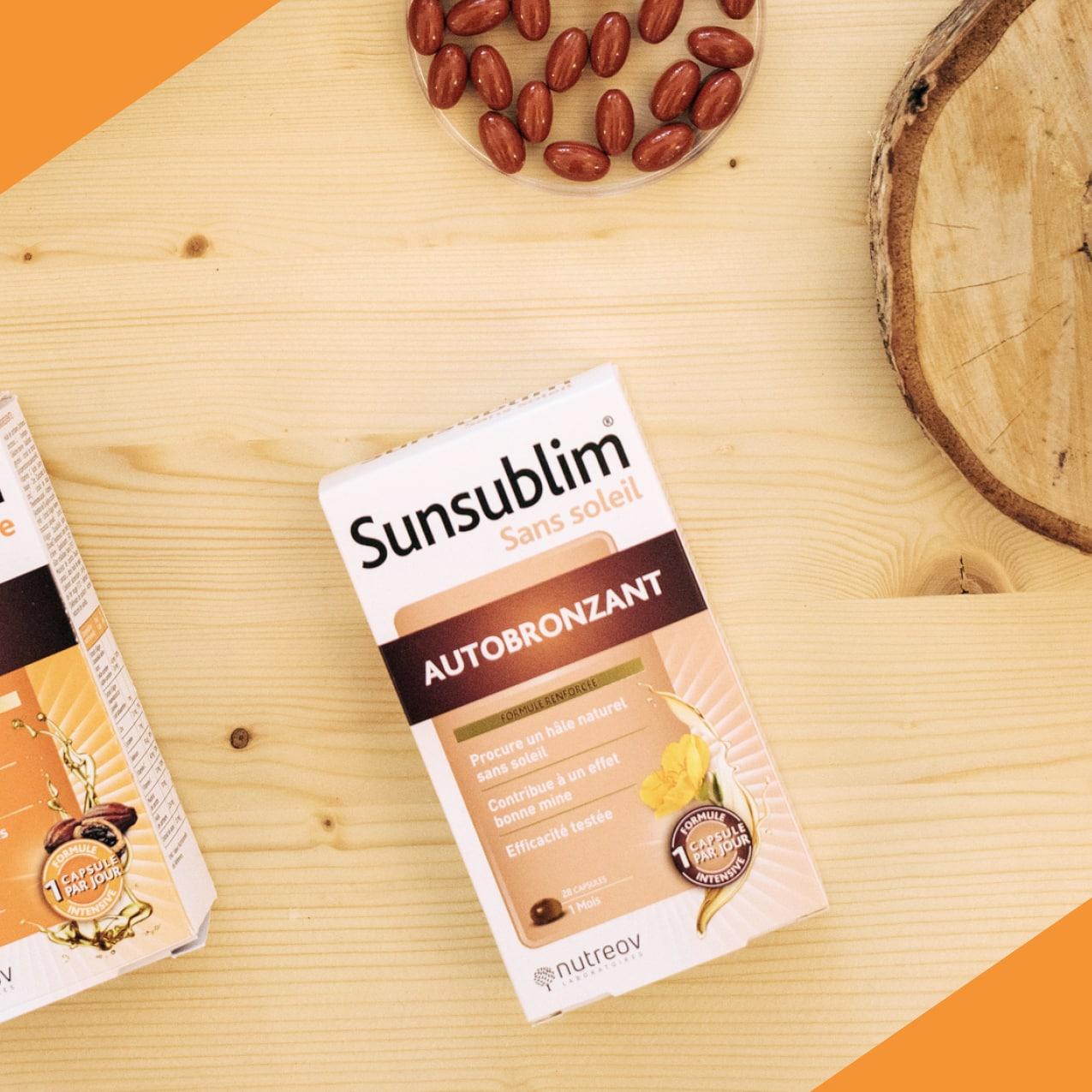 Sunsublim® Sans soleil Autobronzant