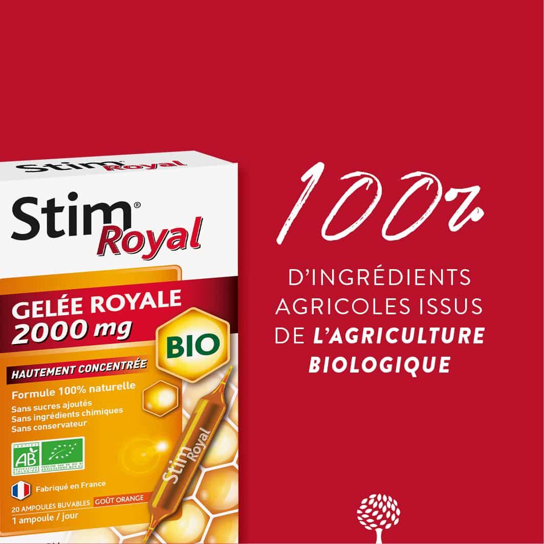 Stim® Royal Gelée Royale Bio 2000mg