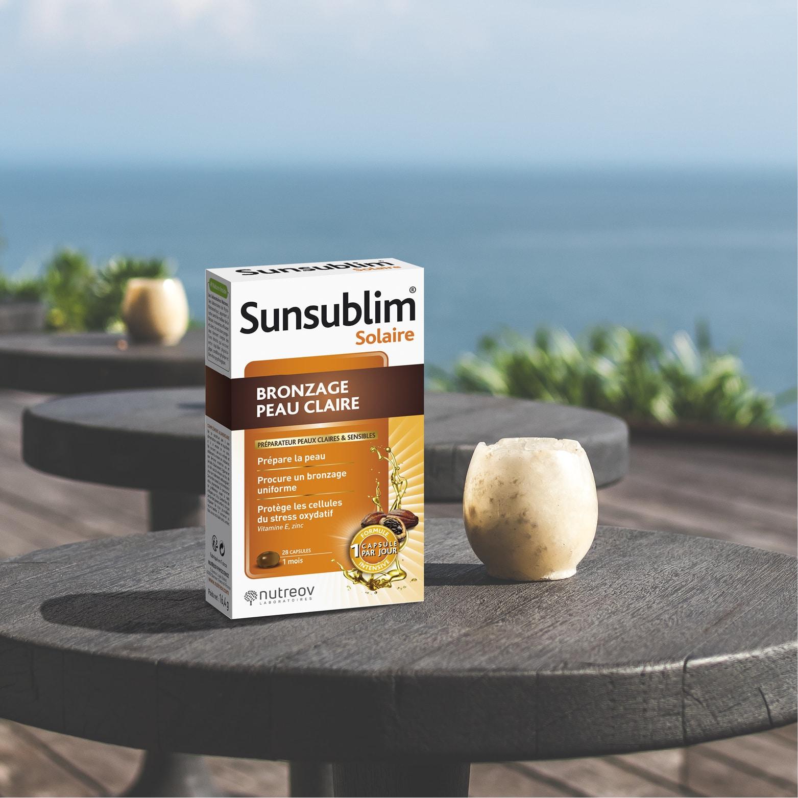Sunsublim® Solaire Bronzage Peau Claire